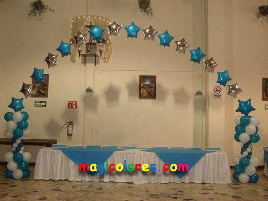 Magicolores xv a os for Decoracion con globos 50 anos